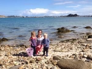 July 'Stop over' crew_ Eva, Gemma, and Ben
