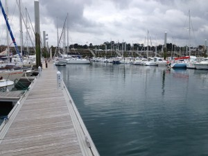 St Quay de Portrieux Vistors pontoon