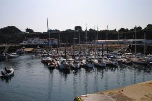 Inner harbour Port Tudy