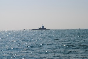 Passing Teignouse light house on east side