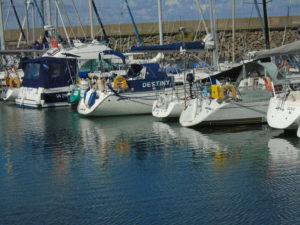 D leg, Port Joinville marina.