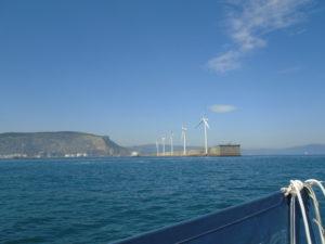 Bilbao breakwater