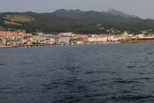 Leaving Castro Urdiales.