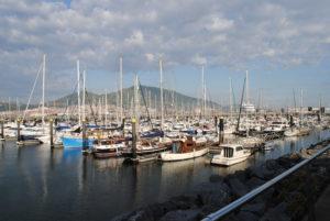 Marina Deportivo di Getxo.