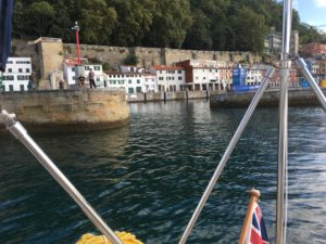 Donostia Harbour Entrance