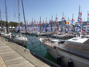Min Transat starting from the La Rochelle Boatshow.